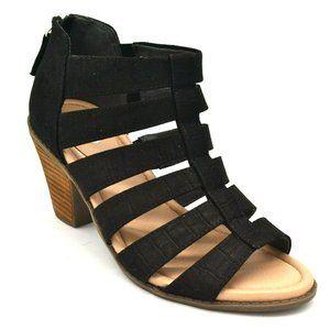 Dr Scholls Women Chaser Gladiator Sandal Black NEW